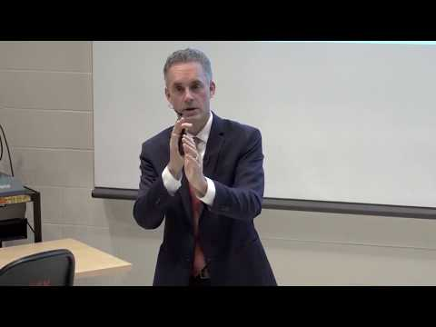Jordan Peterson talks about when to be a monster