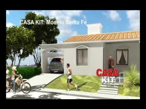 Casa kit modelos de 2 y 3 dormitorios youtube for Modelos de casas de 3 dormitorios