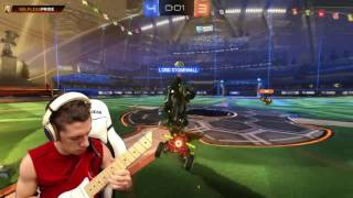 Amoney_tv's Guitar Solo to a Rocket League Menu Song