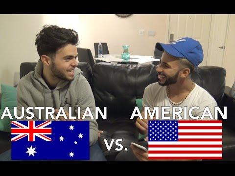 AMERICAN Vs. AUSTRALIAN SLANG! Ft. James Yammouni