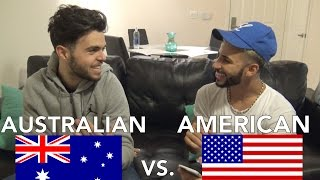 AMERICAN vs. AUSTRALIAN SLANG! ft. James Yammouni