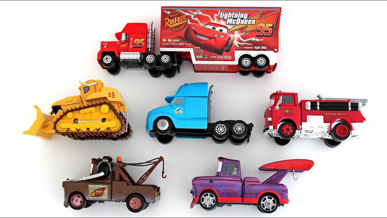 learning names of special vehicles from disney cars for kids a superheroschool youtube. Black Bedroom Furniture Sets. Home Design Ideas