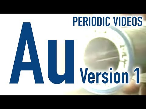 Gold (version 1)  - Periodic Table of Videos