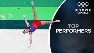 Sam Mikulak is ready for the World Championships in Stuttgart | Top Performers