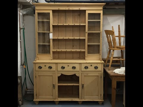 Very Large Victorian Pine Dresser  - Pinefinders Old Pine Furniture Warehouse