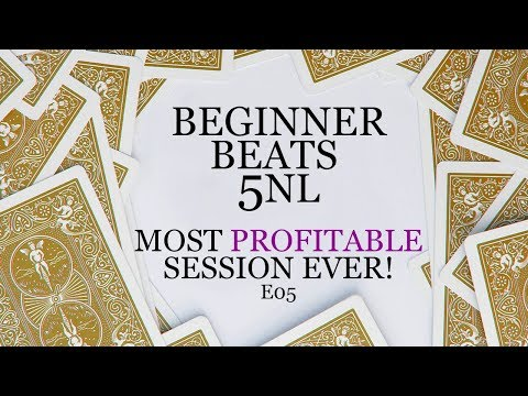 Learning To Beat 5NL Zoom - Bankroll Challenge - EP05 - Most Profitable Session Ever!