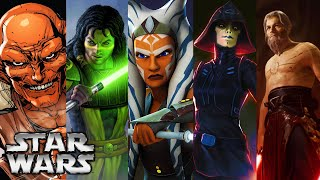 Every Single Jedi That Survived Order 66 (All Known 27+ Jedi Survivors) [2020 UPDATED] [CANON]