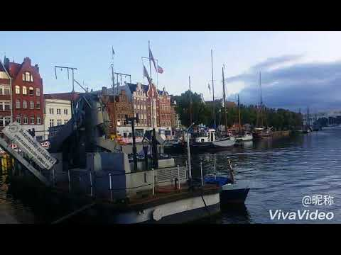 Lubeck city tour on rive side, Germany p2