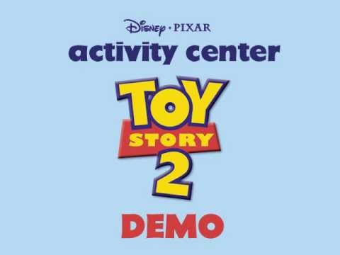 toy story 2 activity center demo