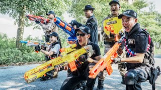 LTT Game Nerf War : Rescue Mission Couple Warriors SEAL X Nerf Guns Fight Crime Braum Crazy