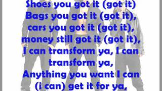 Chris Brown ft lil wayne Transform ya lyrics