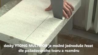Vnitřní zateplení Multipor - pracovní postup