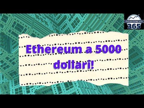 Ethereum a 1000$? Perchè non 5000$!!! Criptomania!