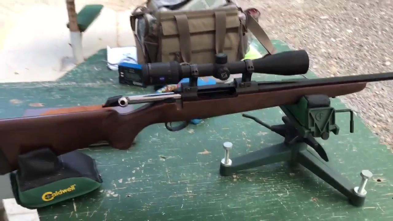 NEW Tikka T3x Hunter First 10 shots!! AMAZING Accuracy!! - YouTube