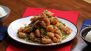 Crunchy Salt and Pepper Shrimp