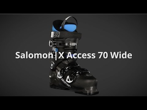 2018 Salomon X Access 70 Wide Mens Boot Overview by SkisDotCom