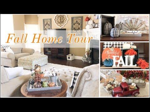 FALL HOME TOUR 2019 🍁🍂 | FALL DECOR | FARMHOUSE DECOR