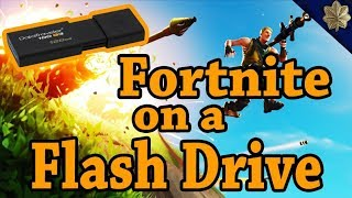 How To Install Games On A Flash Drive