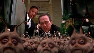 """Славься Кей! Славься Джей! Момент из фильма """"Люди в чёрном 2"""" — 2002"""
