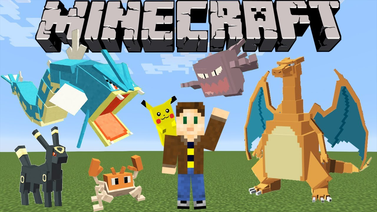 Pixelmon Minecraft Pokémon Mod Spotlight Youtube
