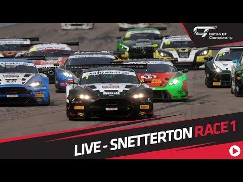 RACE 1 - BRITISH GT - SNETTERTON - LIVE