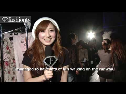 Fukuoka Asia Collection Spring 2011 Backstage Presentation | FashionTV - FTV.com
