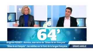 """Video """"Dites-le en français"""" : les médias sur le front de la langue française download MP3, 3GP, MP4, WEBM, AVI, FLV Mei 2017"""