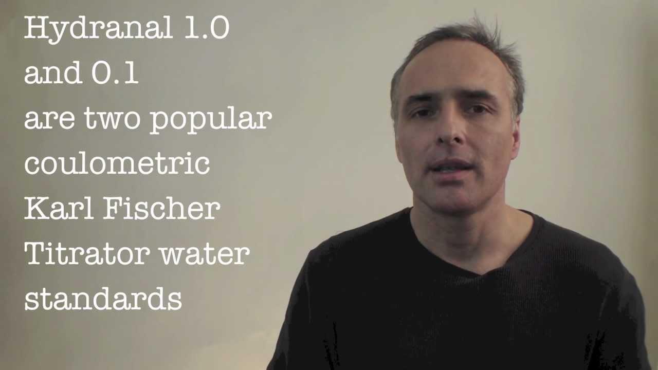 Karl Fischer Titration Water Standard Video
