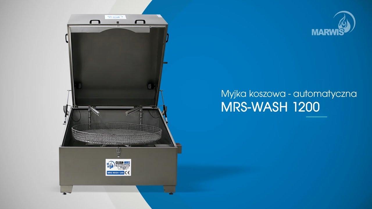 Chwalebne MRS WASH 1200 myjka koszowa - automatyczna producent Marwis.pl GL24
