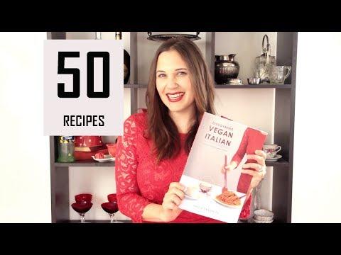 My New Vegan Italian Cookbook! | 50 recipe classics
