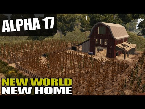 ALPHA 17 | NAVEZGANE MAP DAY ONE DREAM LOOT | 7 Days to Die | Alpha 17 Gameplay | S17.4E01