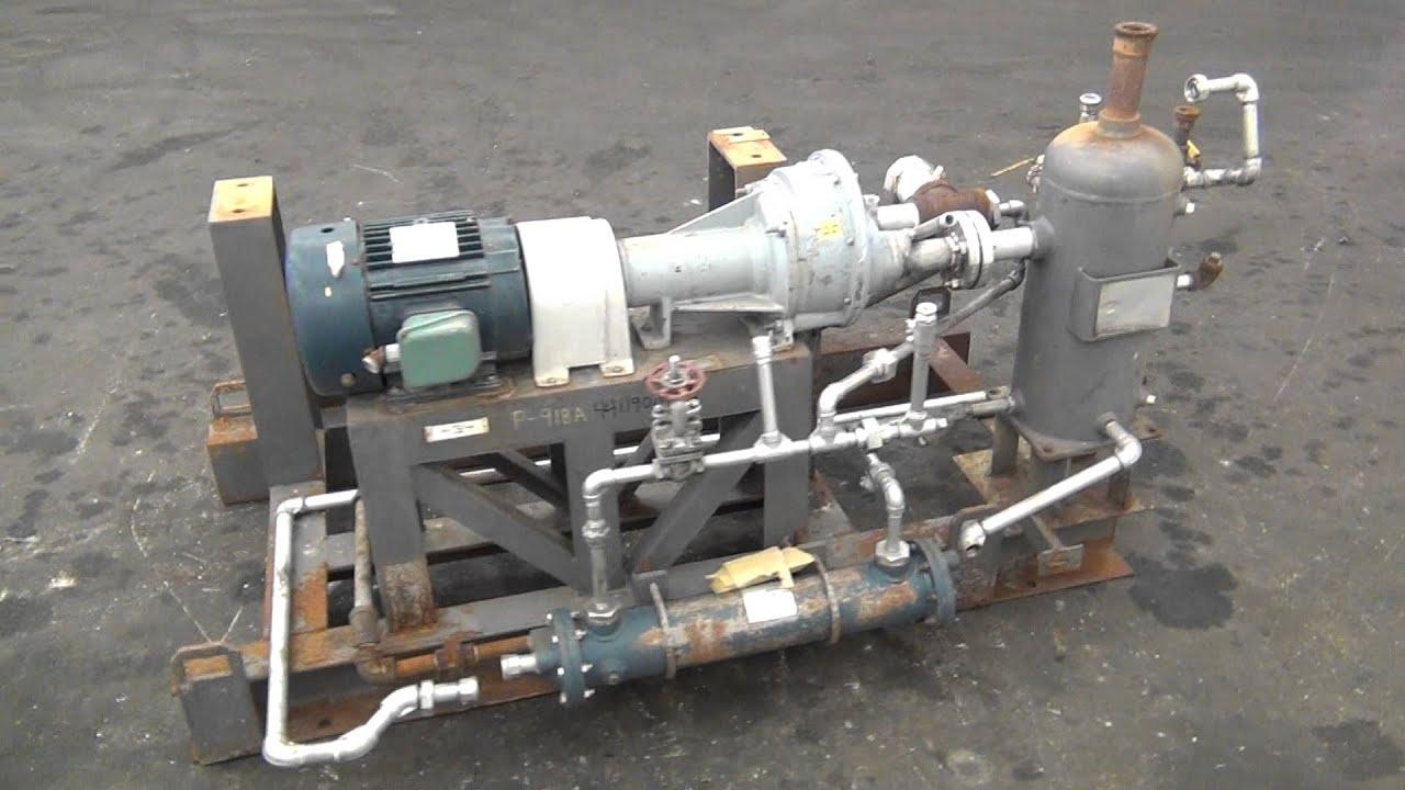 Used Nash Liquid Ring Vacuum Pump Size Ahf 80 Stock