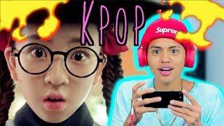 REACCIONANDO AL K-POP 😂 *sale bien* - Cristhian Romero