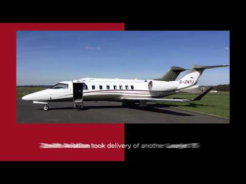 Learjet 75, London Oxford Airport, Helicopters, The Jet Business and Brexit!