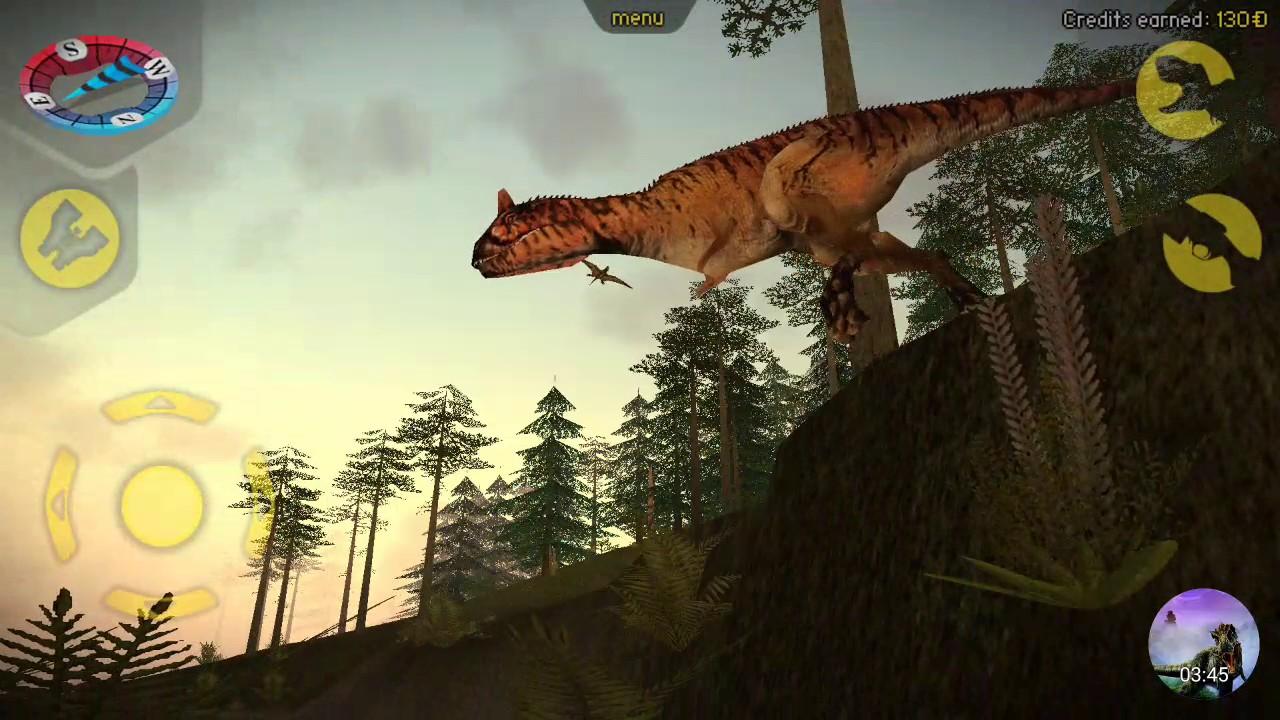 Carnivores Dinosaur Hunter   Carnotaurus and Velociraptor ...