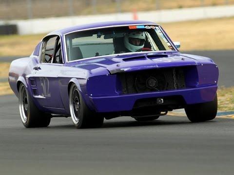 512 67 Road Race Mustang Saac Mini Nats 28 Vintage