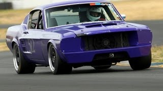 #512 '67 Road Race Mustang | SAAC Mini-Nats 28 Vintage Race | Sears Point