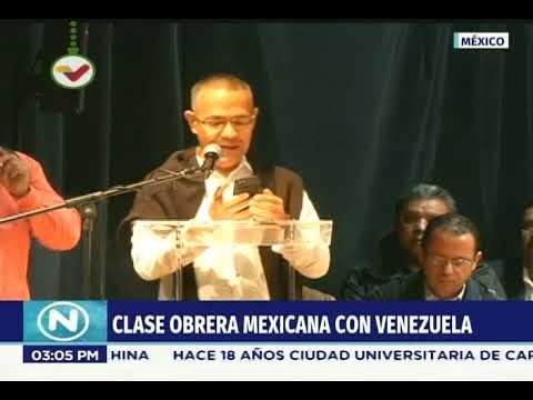 Ernesto Villegas se reúne con la clase obrera mexicana, 2 diciembre 2018