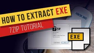 How to Extract Eאe Files on Windows - 7-Zip Tutorial