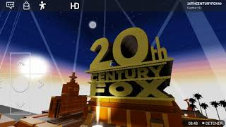 20th Century FOX History On Roblox V2
