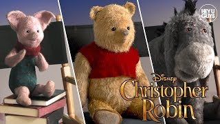 Winnie the Pooh, Eeyore, Piglet & Tigger get real on Christopher Robin (Interview)