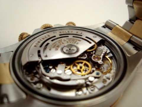 "Rolex Daytona Cosmograph Watch- Movement ""Gut Shot"" 2/2"