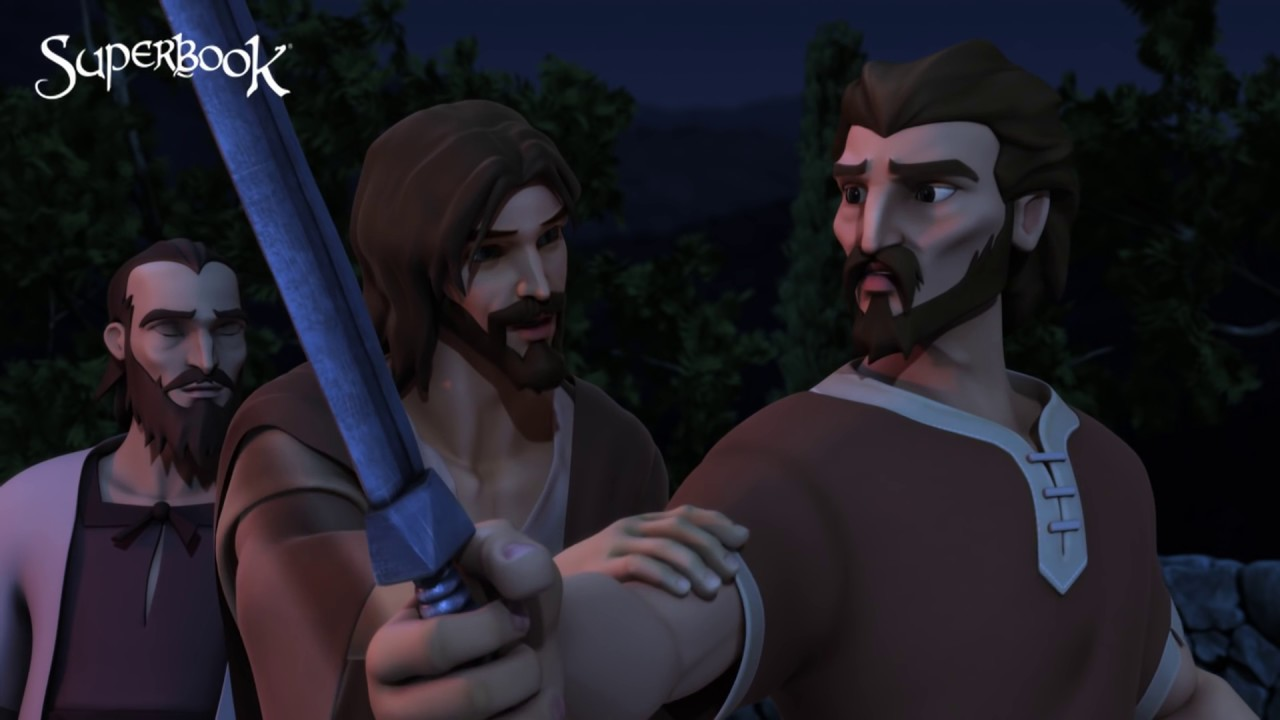 Jesus Submits To God - Superbook
