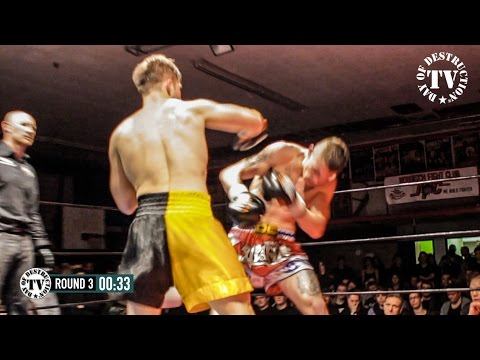 Main Event Brawl at NTFN - Timo Stendel vs Kevin Moroni -