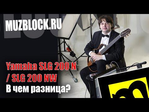 Yamaha SLG 200 N и SLG 200 NW - сравнение сайлент гитар