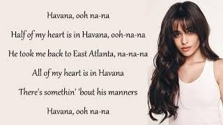 Gambar cover Lirik lagu HAVANA