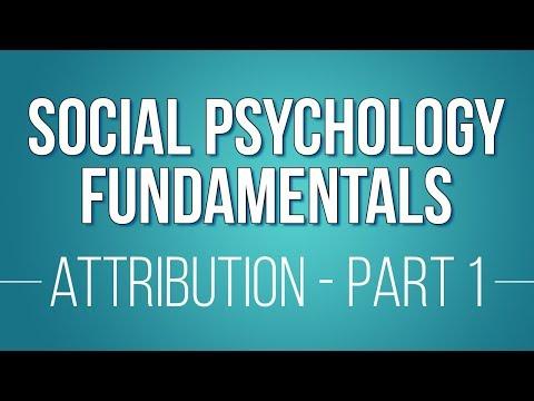 13 Attribution Theories: Part 1