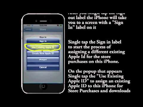 Change Itunes Store Apple Id On Your Iphone Ipad Or Itouch Step By Step Instruction