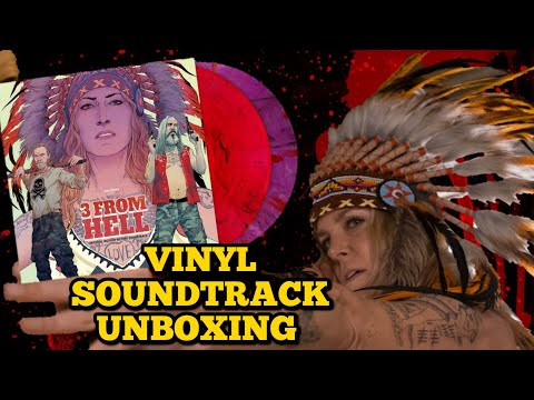 Rob Zombie's 3 From Hell | Vinyl Soundtrack Unboxing | 31 Days Of Halloween | Day 17 | 🎃