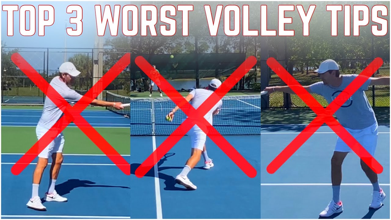 Top 3 Worst Volley Tips & What You Should Be Doing Instead